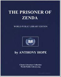 The Prisoner of Zenda by Hope, Anthony