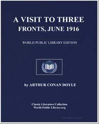 A Visit to Three Fronts by Doyle, Arthur Conan, Sir