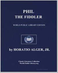 Phil, The Fiddler by Alger, Horatio, Jr.