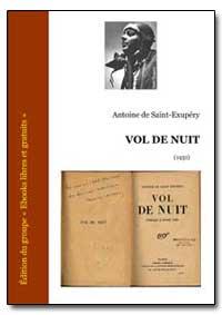 Volume de Nuit by De Saint-Exupery, Antoine