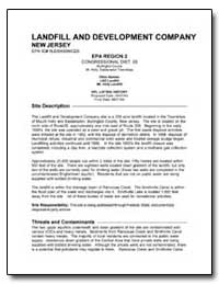 Landfill and Development Company by Environmental Protection Agency