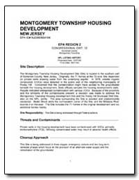 Montgomery Township Housing Development by Environmental Protection Agency