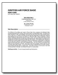 Griffiss Air Force Base by Environmental Protection Agency