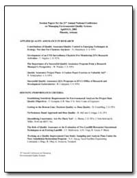 Session Papers for the 21St Annual Natio... by Detenbeck, Naomi E.