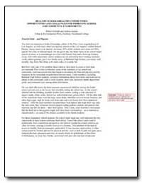Healthy Schools/Healthy Communities : Op... by Gottlieb, Robert