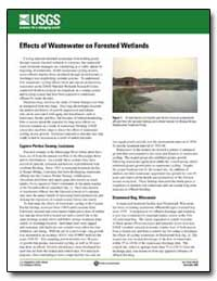 Effects of Wastewater on Forested Wetlan... by Environmental Protection Agency