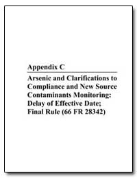 Arsenic and Clarifications to Compliance... by Environmental Protection Agency
