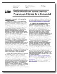 Boletin Informativo de Justicia Ambienta... by Environmental Protection Agency