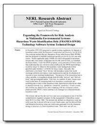 Expanding the Framework for Risk Analysi... by Laniak, Gerard