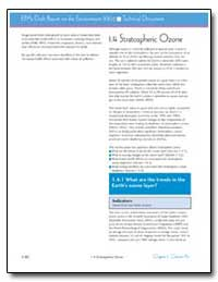 1. 4 Stratospheric Ozone by Environmental Protection Agency