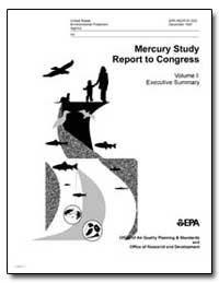 Mercury Study Report to Congress by Environmental Protection Agency