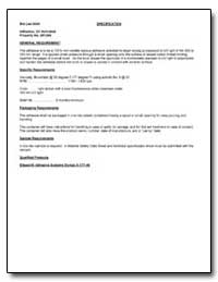General Requirement by