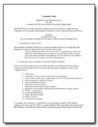 Report of Oversight Plan of the Committe... by