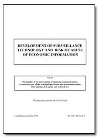 Development of Surveillance Technology a... by Prof. Chris
