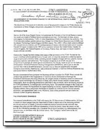 An Assessment of Proposed Changes to the... by