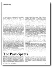 The Participants by