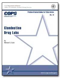 Clandestine Drug Labs by Scott, Michael S.