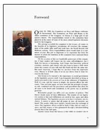 Foreword by Rostenkowski, Dan
