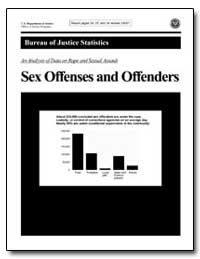An Analysis of Data on Rape and Sexual A... by Greenfeld, Lawrence A.
