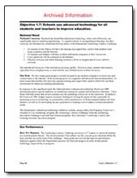 Archived Information Objective 1. 7 : Sc... by Department of Education