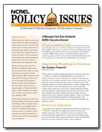 Ncrel Policy Issues Issue 9 November 200... by Young, Edyth E.
