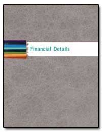 Financial Details by Martin, Jack