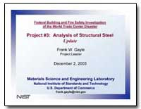 Federal Building and Fire Safety Investi... by Gayle, Frank W.