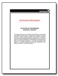 Archived Information Activities of the R... by Valdivieso, Carol
