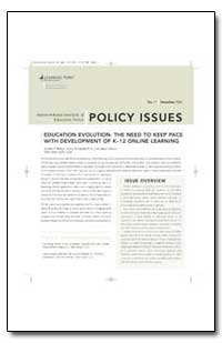 Education Evolution : The Need to Keep P... by Wasten, John F.