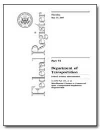 Part Vi Department of Transportation Fed... by Smith, Patricia Grace