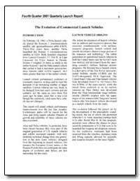 The Evolution of Commercial Launch Vehic... by Federal Aviation Administration