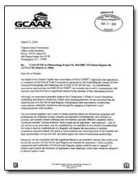 Can-Spam Act Rulemaking, Project No. R41... by Kneussl, Jim, C. B. R.