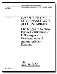 Challenges to Restore Public Confidence ... by General Accounting Office
