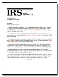 Internal Revenue Service by United States Department of the Treasury