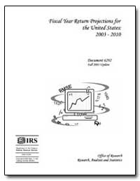 Fiscal Year Return Projections for the U... by United States Department of the Treasury