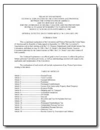 Treasury Department Technical Explanatio... by United States Department of the Treasury