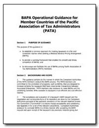 Bapa Operational Guidance for Member Cou... by United States Department of the Treasury