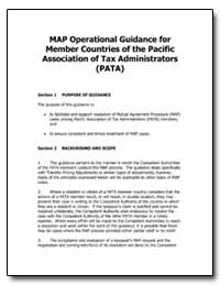 Map Operational Guidance for Member Coun... by United States Department of the Treasury
