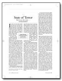 State of Terror by Schmitt, Gary
