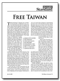 Free Taiwan by Kristol, William