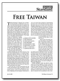 Free Taiwan by Kristol, William