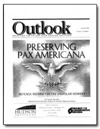 Preserving Pax Americana by Donnelly, Thomas