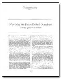 Now May We Please Defend Ourselves by Kagan, Robert