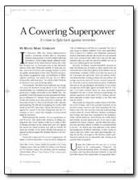 A Cowering Superpower by Gerecht, Reuel Marc
