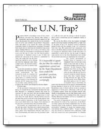 The U.N. Trap by Kagan, Robert