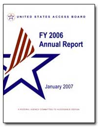 Fy 2006 Annual Report by Bibb, David L.
