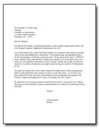 On Behalf of the President, I Omb Submit... by Bolten, Joshua B.