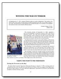 Winning the War on Terror by