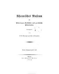 Rheinisches Museum für Philologie, Gesch... by