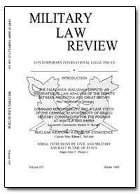 Military Law Review-Volume 107 by Kaczynski, Stephen J., Captain